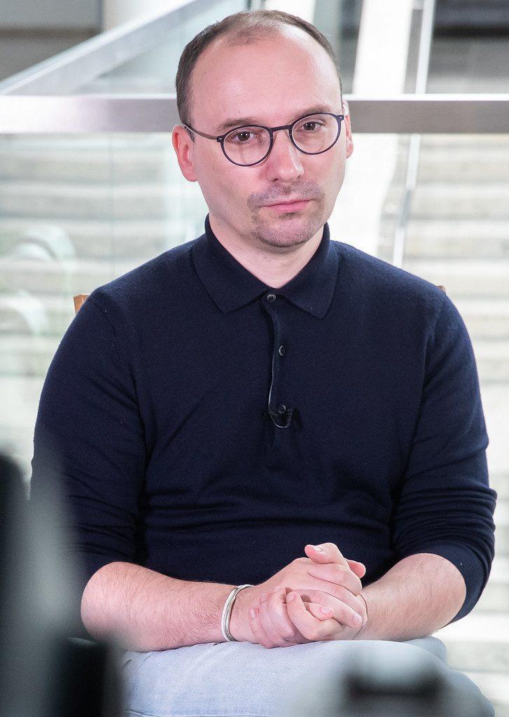 Picture of the Interviewee MP Matas Maldeikis taken by Olga Posaškova